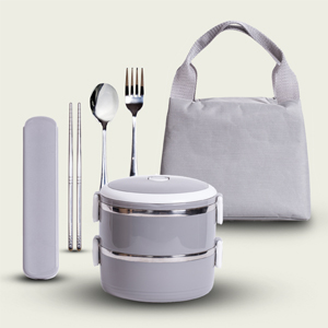 Reusable containers & Cutlery